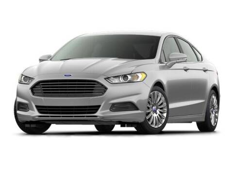 2016 Ford Fusion for sale at SULLIVAN MOTOR COMPANY INC. in Mesa AZ