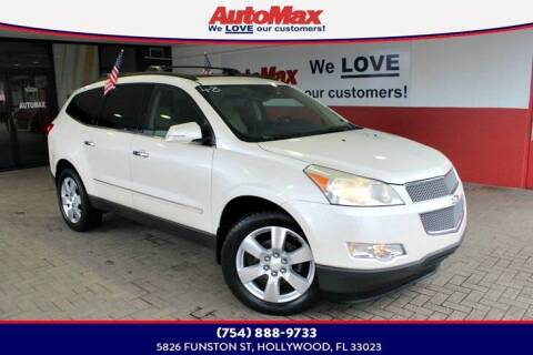 2012 Chevrolet Traverse for sale at Auto Max in Hollywood FL