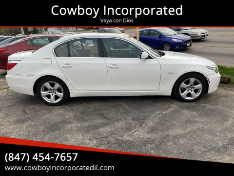 2008 BMW 5 Series for sale at Cowboy Incorporated in Waukegan IL