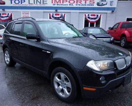2008 BMW X3 for sale at Top Line Import of Methuen in Methuen MA