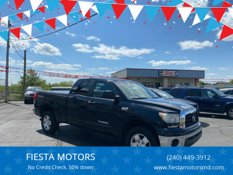 2008 Toyota Tundra for sale at FIESTA MOTORS in Hagerstown MD