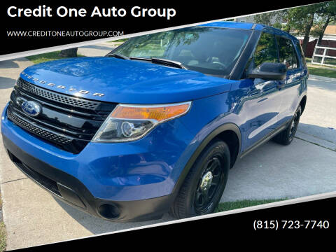 2014 Ford Explorer for sale at Credit One Auto Group in Joliet IL
