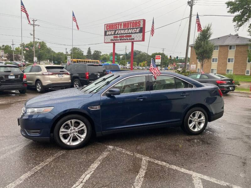 2017 Ford Taurus for sale at Christy Motors in Crystal MN