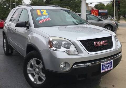 2012 GMC Acadia for sale at Gonzalez Auto Sales in Joliet IL