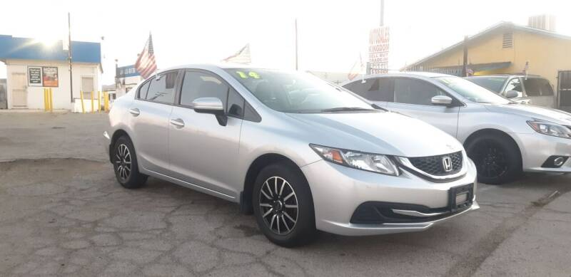 2014 Honda Civic for sale at Autosales Kingdom in Lancaster CA