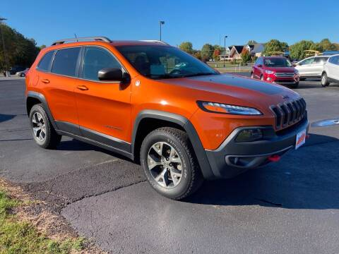 2015 Jeep Cherokee for sale at McCully's Automotive - Trucks & SUV's in Benton KY