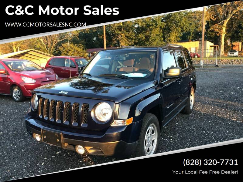 2015 Jeep Patriot for sale at C&C Motor Sales LLC in Hudson NC
