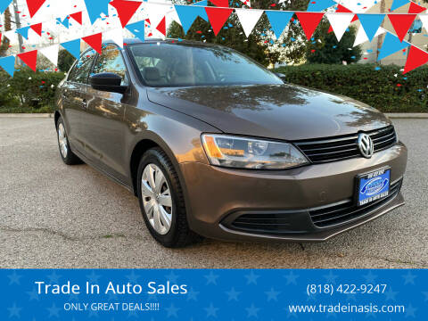 2012 Volkswagen Jetta for sale at Trade In Auto Sales in Van Nuys CA