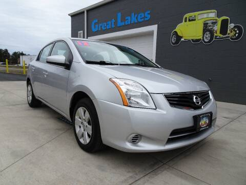 2012 Nissan Sentra for sale at Great Lakes Classic Cars & Detail Shop in Hilton NY