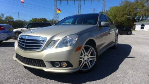 2010 Mercedes-Benz E-Class for sale at Das Autohaus Quality Used Cars in Clearwater FL