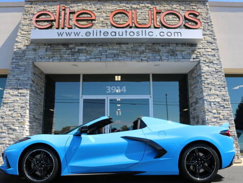 2021 Chevrolet Corvette for sale at Elite Autos LLC in Jonesboro AR
