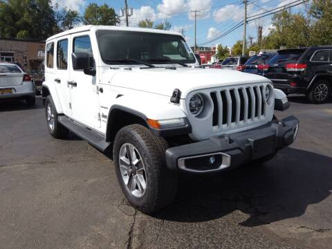 2018 Jeep Wrangler Unlimited for sale at RS Motors in Falconer NY