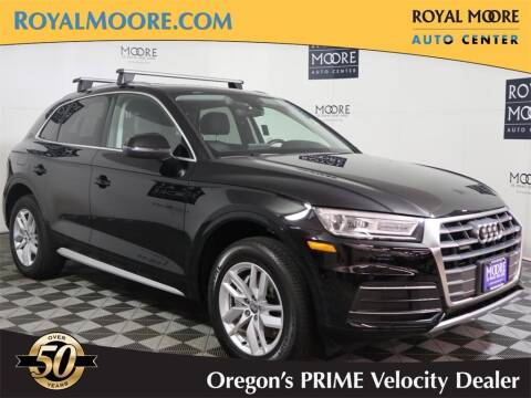 2020 Audi Q5 for sale at Royal Moore Custom Finance in Hillsboro OR