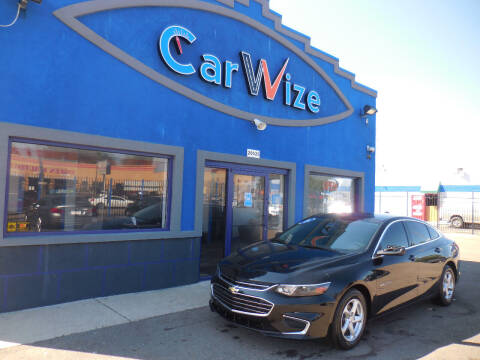 2016 Chevrolet Malibu for sale at Carwize in Detroit MI