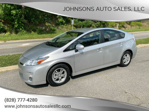 2010 Toyota Prius for sale at Johnsons Auto Sales, LLC in Marshall NC