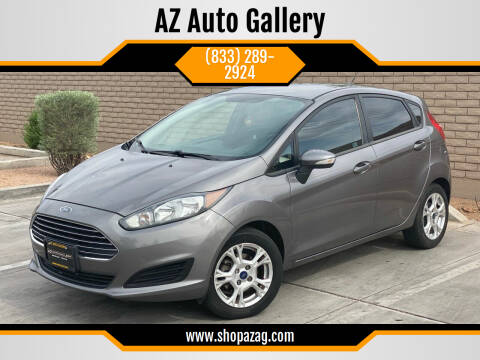 2014 Ford Fiesta for sale at AZ Auto Gallery in Mesa AZ
