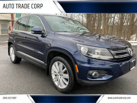 2013 Volkswagen Tiguan for sale at AUTO TRADE CORP in Nanuet NY