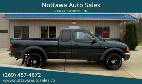 2003 Ford Ranger for sale at Nottawa Auto Sales in Nottawa MI