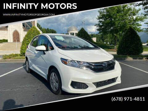 2018 Honda Fit for sale at INFINITY MOTORS in Gainesville GA