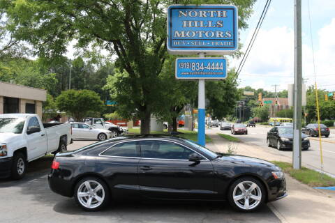 2013 Audi A5 for sale at North Hills Motors in Raleigh NC