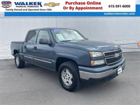2007 Chevrolet Silverado 1500 Classic for sale at WALKER CHEVROLET in Franklin TN