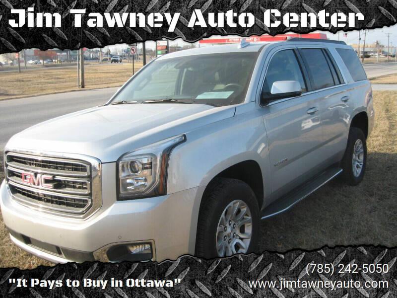 2018 GMC Yukon for sale at Jim Tawney Auto Center Inc in Ottawa KS