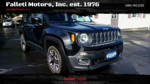 2015 Jeep Renegade for sale at Falleti Motors, Inc.  est. 1976 in Batavia NY