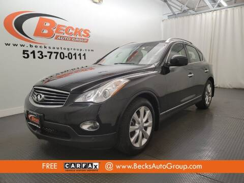 2011 Infiniti EX35 for sale at Becks Auto Group in Mason OH