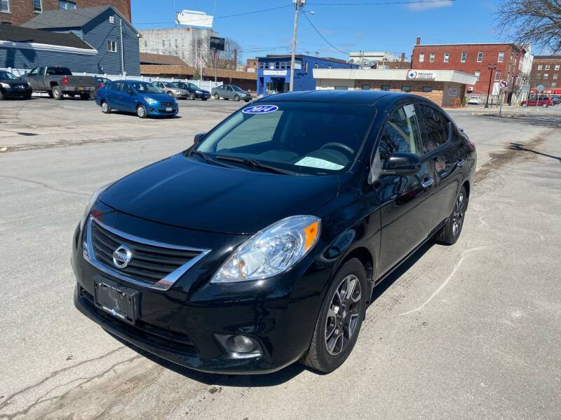2014 Nissan Versa for sale at Midtown Autoworld LLC in Herkimer NY