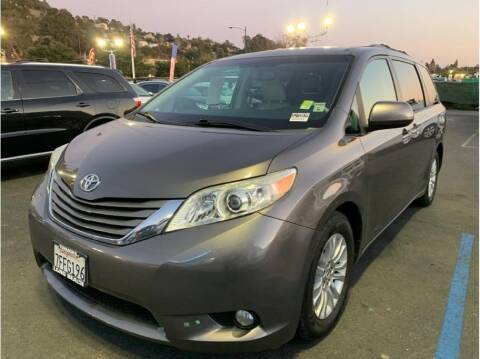 2014 Toyota Sienna for sale at AutoDeals in Hayward CA