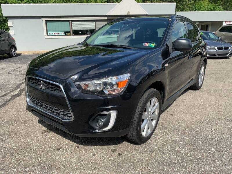 2015 Mitsubishi Outlander Sport for sale at B & P Motors LTD in Glenshaw PA