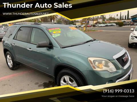 2010 GMC Acadia for sale at Thunder Auto Sales in Sacramento CA