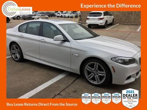 2011 BMW 5 Series for sale at Dallas Auto Finance in Dallas TX