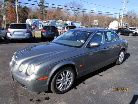 2005 Jaguar S-Type for sale at Route 12 Auto Sales in Leominster MA