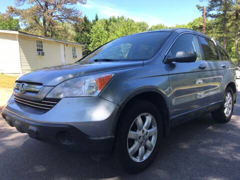 2007 Honda CR-V for sale at CAR STOP INC in Duluth GA
