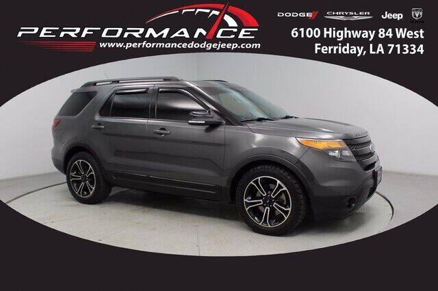 2015 Ford Explorer for sale at Performance Dodge Chrysler Jeep in Ferriday LA