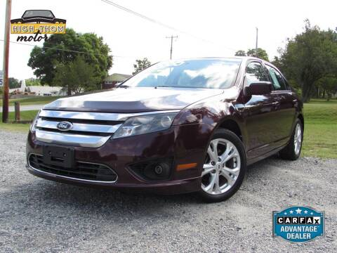 2012 Ford Fusion for sale at High-Thom Motors in Thomasville NC