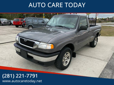 1998 Mazda B-Series Pickup for sale at AUTO CARE TODAY in Spring TX