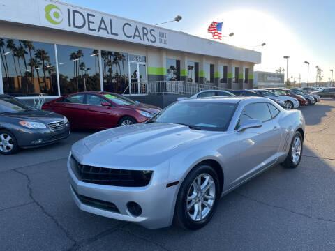 2012 Chevrolet Camaro for sale at Ideal Cars Atlas in Mesa AZ