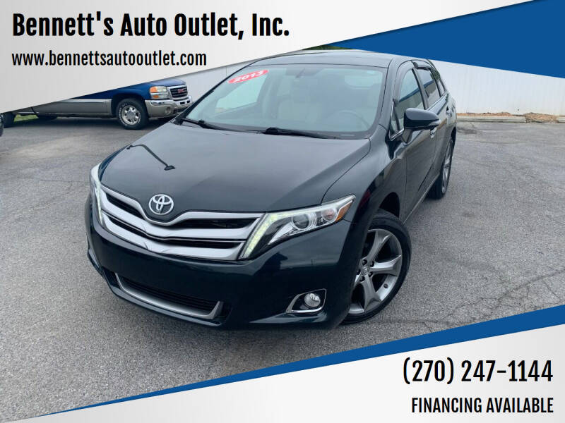 2013 Toyota Venza for sale at Bennett's Auto Outlet, Inc. in Mayfield KY