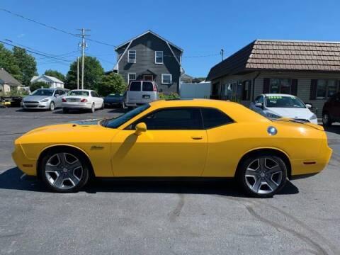 2012 Dodge Challenger for sale at MAGNUM MOTORS in Reedsville PA