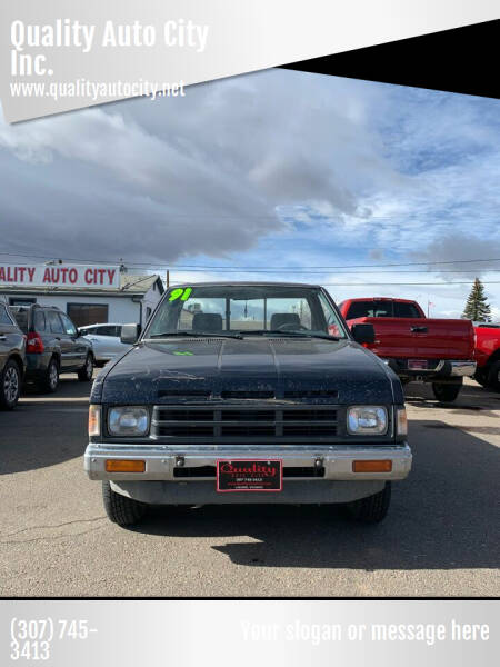 1991 Nissan Truck for sale at Quality Auto City Inc. in Laramie WY