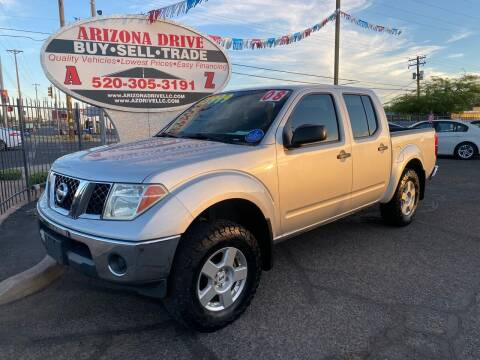 2008 Nissan Frontier for sale at Arizona Drive LLC in Tucson AZ