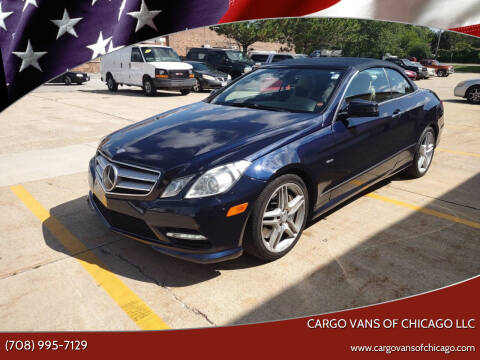 2012 Mercedes-Benz E-Class for sale at Cargo Vans of Chicago LLC in Mokena IL