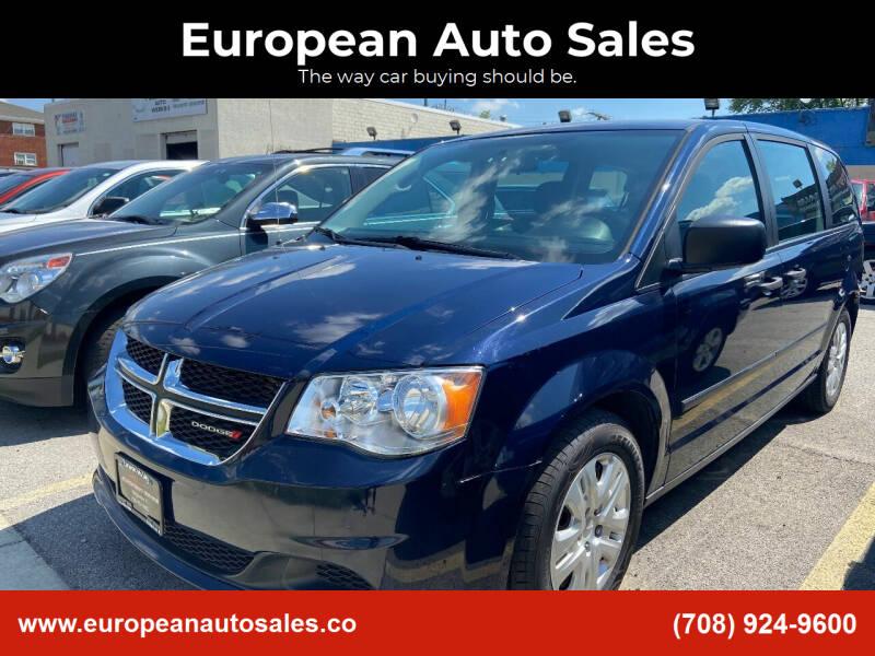 2015 Dodge Grand Caravan for sale at European Auto Sales in Bridgeview IL