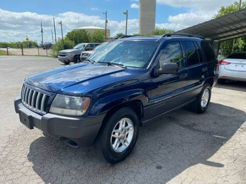 2004 Jeep Grand Cherokee for sale at Silver Auto Partners in San Antonio TX