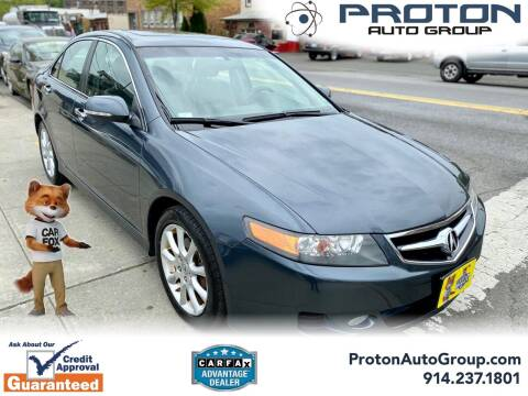 2008 Acura TSX for sale at Proton Auto Group in Yonkers NY