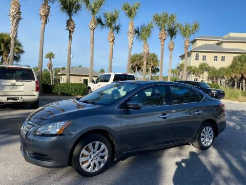 2015 Nissan Sentra for sale at Gulf Financial Solutions Inc DBA GFS Autos in Panama City Beach FL