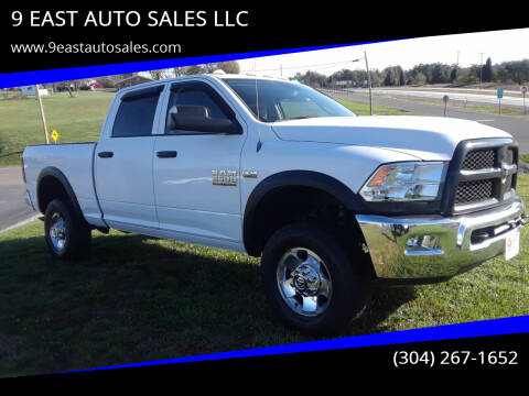 2013 RAM Ram Pickup 2500 for sale at 9 EAST AUTO SALES LLC in Martinsburg WV