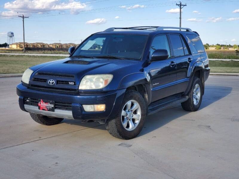 2005 Toyota 4Runner for sale at Chihuahua Auto Sales in Perryton TX
